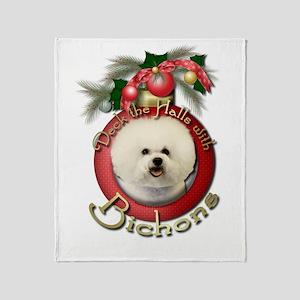 Christmas - Deck the Halls - Bichons Stadium Blan