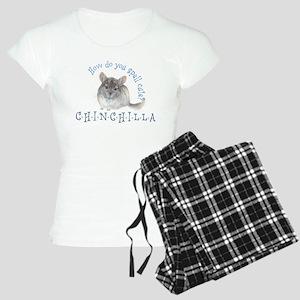 cute chinchilla Women's Light Pajamas