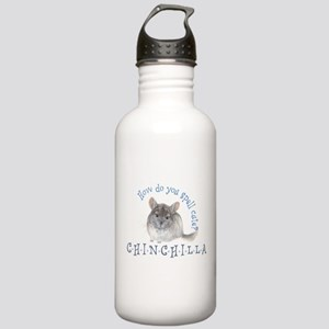 cute chinchilla Stainless Water Bottle 1.0L