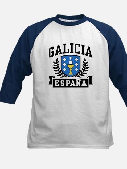 Galicia Espana Kids Baseball Jersey