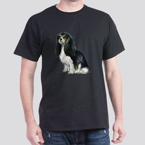 Black and tan Cavalier Dark T-Shirt