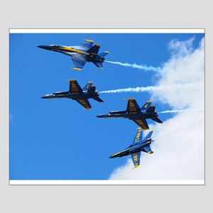 Blue Angels Small Poster