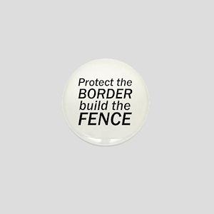 Build the Fence Mini Button