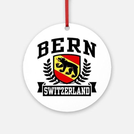 Bern Switzerland Ornament (Round)
