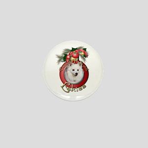 Christmas - Deck the Halls - Eskies Mini Button