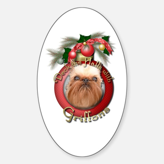 Christmas - Deck the Halls - Griffons Decal