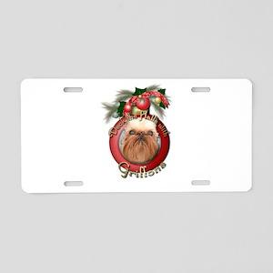 Christmas - Deck the Halls - Griffons Aluminum Lic