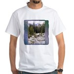 Olmstead Point t-shirt--white