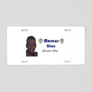Marcus Dion Aluminum License Plate