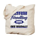 Catfish Noodling Tote Bag
