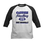 Catfish Noodling Kids Baseball Jersey