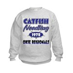 Catfish Noodling Kids Sweatshirt