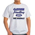 Catfish Noodling Ash Grey T-Shirt