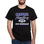 Catfish Noodling Black T-Shirt