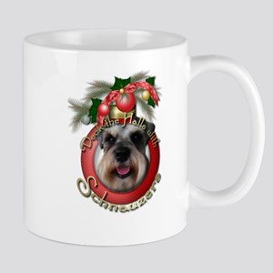 Christmas - Deck the Halls - Schnauzers Mug