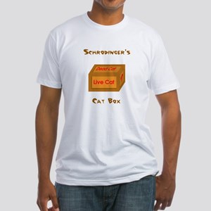 Schrodinger's Cat Box Fitted T-Shirt