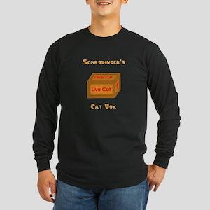 Schrodinger's Cat Box Long Sleeve Dark T-Shirt