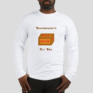Schrodinger's Cat Box Long Sleeve T-Shirt