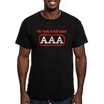 Still AAA Men's Fitted T-Shirt (dark)
