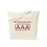 Still AAA Tote Bag