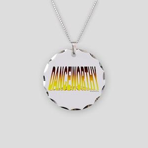 Danceworthy Necklace Circle Charm