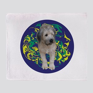 Wheaten Blueswirl Throw Blanket