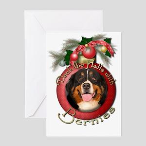 Christmas - Deck the Halls - Bernies Greeting Card