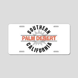 Palm Desert California Aluminum License Plate