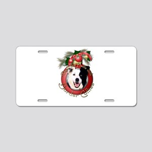 Christmas - Deck the Halls - Border Collies Alumin