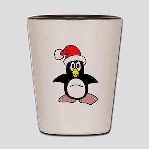 Happy Tappy Penguin Shot Glass