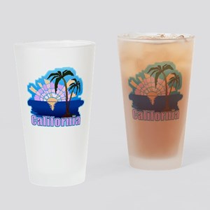 California Sunset Drinking Glass