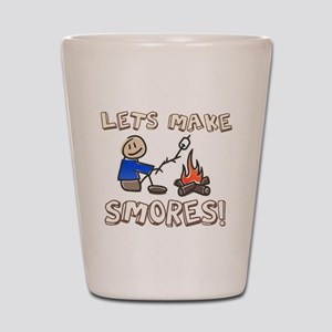 Lets Make SMORES! Shot Glass