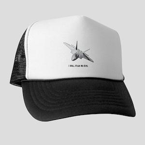 0e885fc2156 Lockheed Martin F 22 Raptor Trucker Hats - CafePress