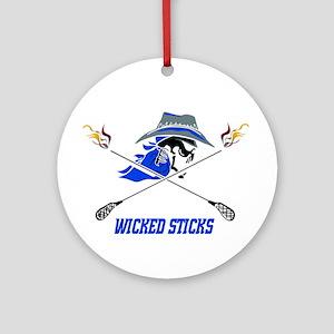 Wicked Sticks Ornament (Round)