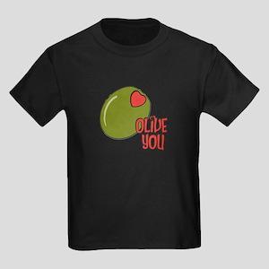 Olive you Kids Dark T-Shirt