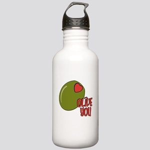 Olive you Stainless Water Bottle 1.0L