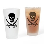 Pirate Fencer Drinking Glass