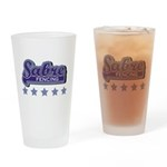 Sabre Fencing Drinking Glass