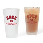Epee Fencing Dept Drinking Glass