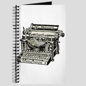 Vintage Monarch Typewriter Journal