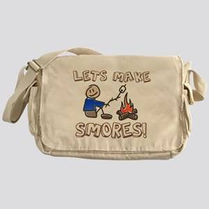 Lets Make SMORES! Messenger Bag