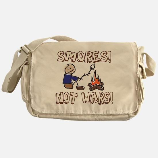 S'mores Not Wars! SMORES Messenger Bag