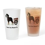Greater Swiss Mountain Dog Drinking Glass