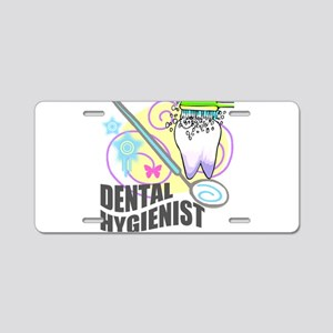 Dental Hygienist Aluminum License Plate