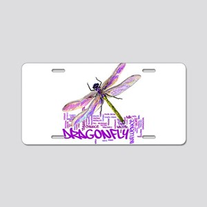 Dragonfly totem Aluminum License Plate