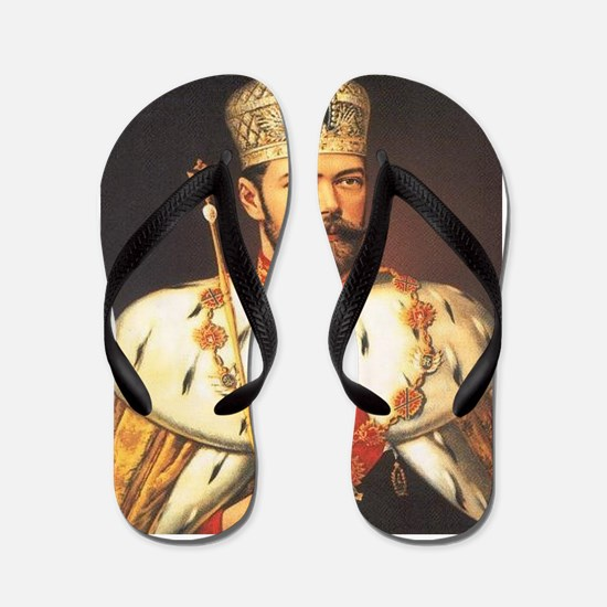 Tsar Nicholas Flip Flops