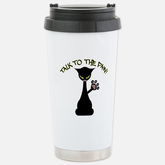 Talk To The Paw Stainless Steel Travel Mug