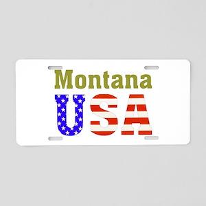 Montana USA Aluminum License Plate