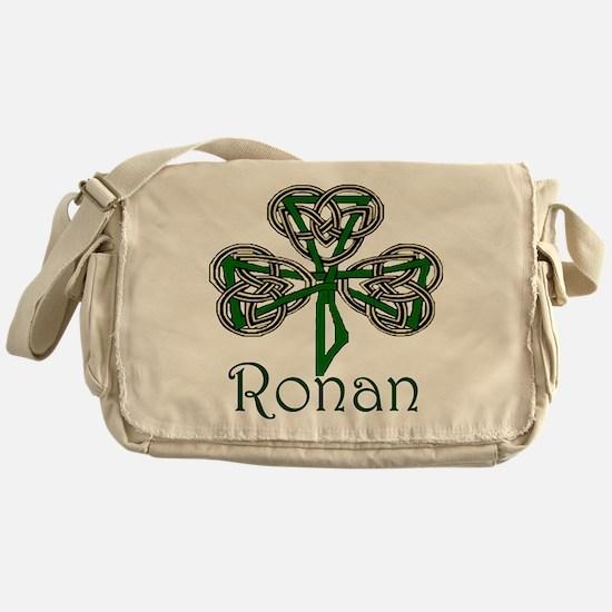 Ronan Shamrock Messenger Bag