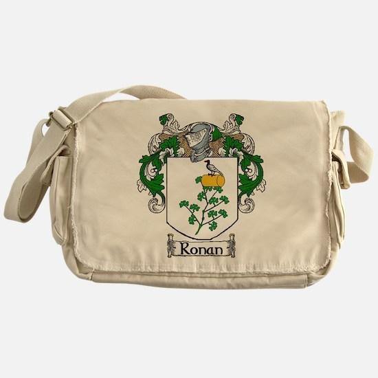 Ronan Coat of Arms Messenger Bag